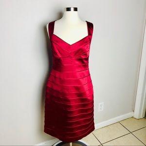 Ralph Lauren Stunning Red Dress! Size 12